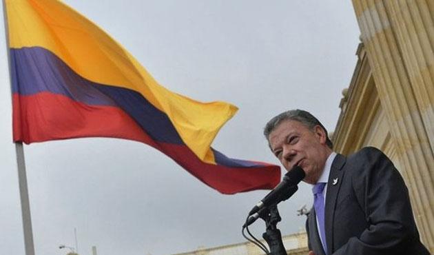 Kolombiya liderinden barış süreci övgüsü