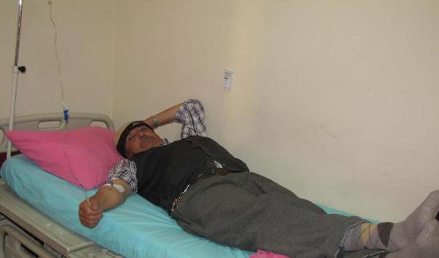 Hisarcık'ta 12 bor işçisi yemekten zehirlendi
