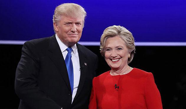 ABD seçimlerinde son anket: Clinton yine önde