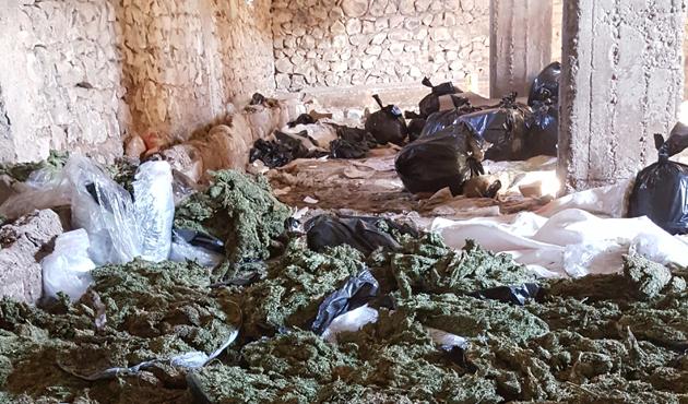 Diyarbakır'da üç günde 5 ton esrar ele geçirildi
