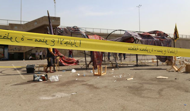 Bağdat'ta Haşdi Şabi'ye intihar saldırısı