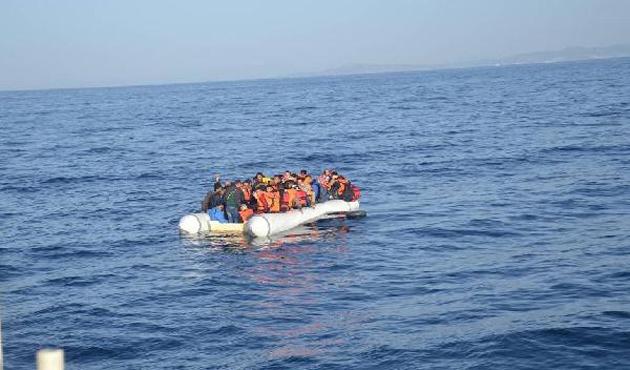 Kuşadası'nda 62 mülteci yakalandı