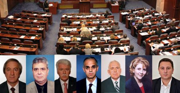 Makedonya'daki Türkleri temsil eden Milletvekilleri