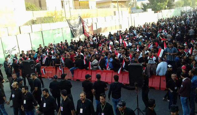 Türkiye Büyükelçiliği'ne Sadr koruması