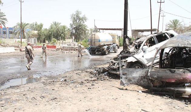 Bağdat'taki saldırıda 12 ölü