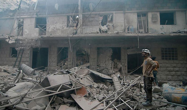 Muhaliflerin Halep operasyonu sürüyor