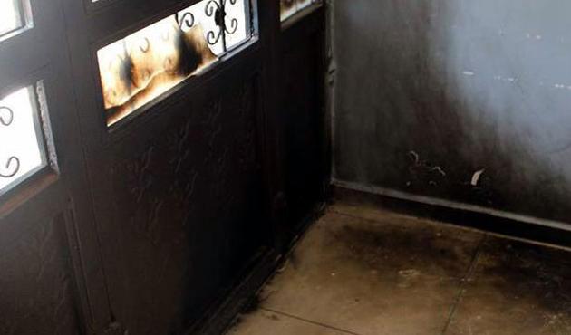 Van'da PKK'dan okula molotoflu saldırı
