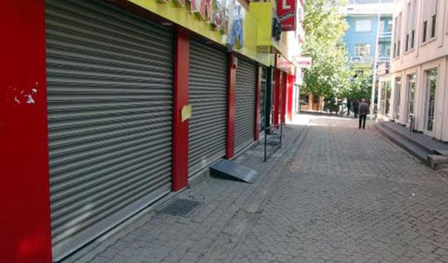 Tunceli'de açılmayan kepenklere savcılık soruşturması