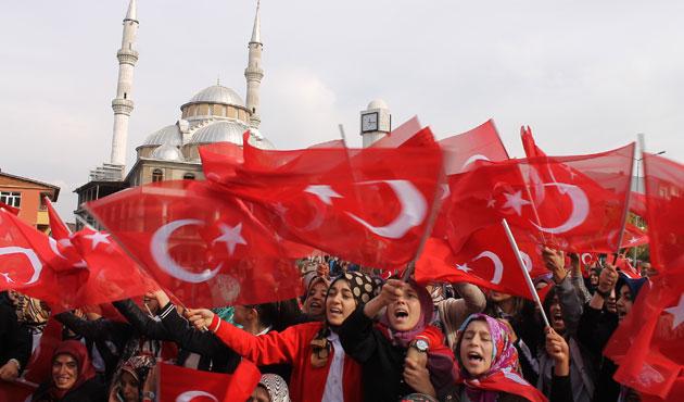 Bingöl'de PKK protestosu