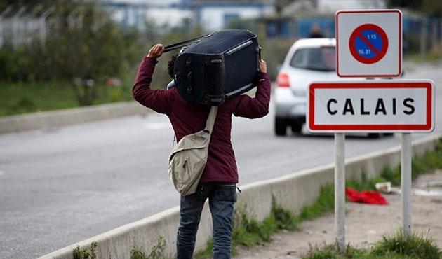 Calais'in tahliyesi tamamlandı