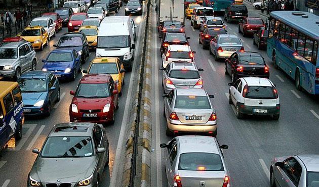 İstanbul trafiği için uyarı