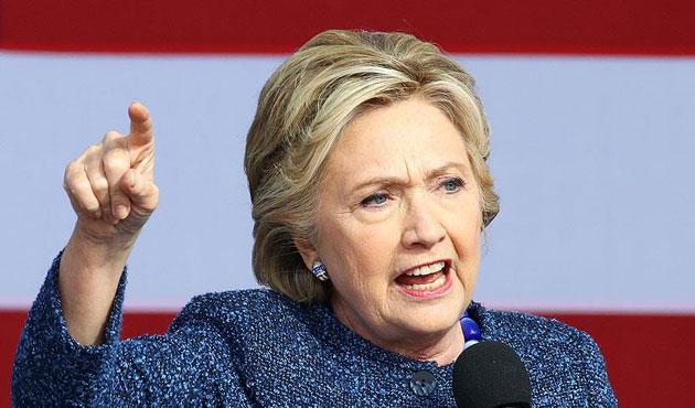 Clinton yenilgisinden FBI'yı sorumlu tuttu