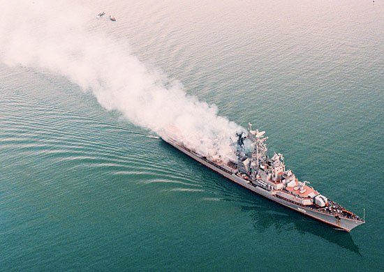 Rus savaş gemisi Yunanistan'da