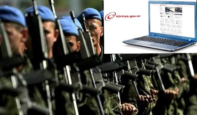 Askerlik yoklamasında e-Devlet kolaylığı