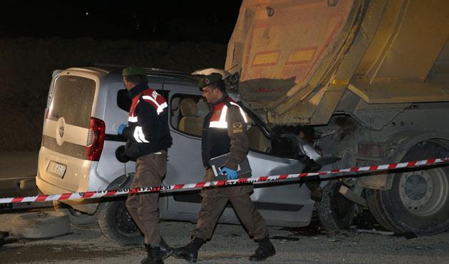 Eyüp'teki kazada iki ölü