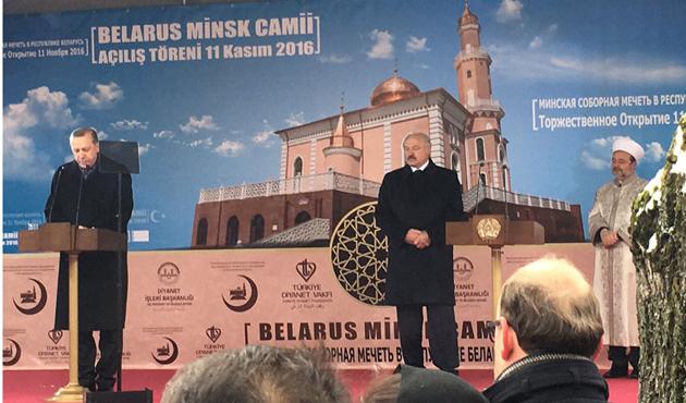 Minsk Camii açıldı
