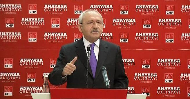 Kılıçdaroğlu: Anayasa tartışması yapacak bir ortam yok