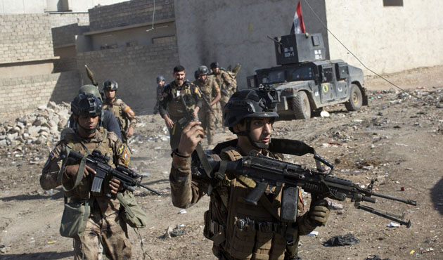 Musul operasyonuna takviye güçler