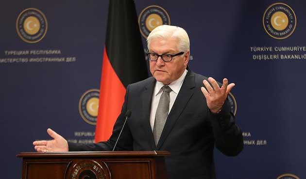 Steinmeier: AB'yle ilgili karar Türkiye'de verilmeli
