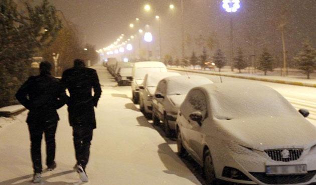 Erzurum'a kar uyarısı