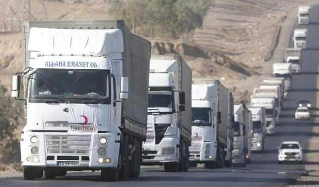 Türk Kızılayı ve AFAD'dan Musullu sivillere büyük yardım