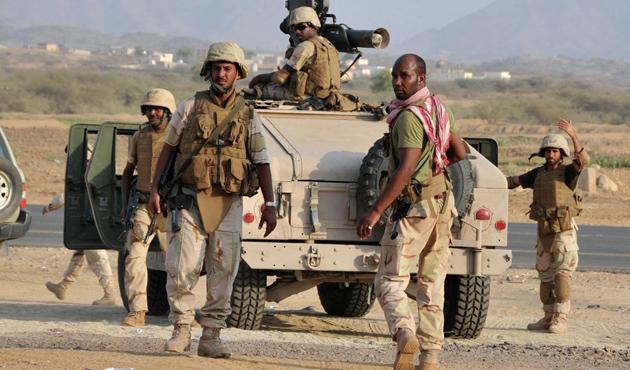 Koalisyondan Yemen'e askeri sevkiyat