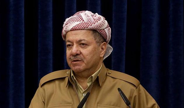 Barzani'den 'iç sorun' açıklaması
