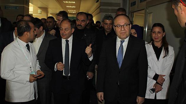 Sağlık Bakanı Akdağ'dan Siirt'te hasta ziyareti