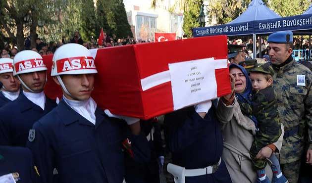 Şehit Piyade Uzman Çavuş Mehmet Arıyeşil defnedildi