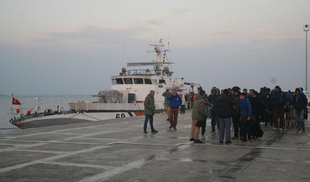 Yunanistan'a kaçmaya çalışan 43 kişi yakalandı