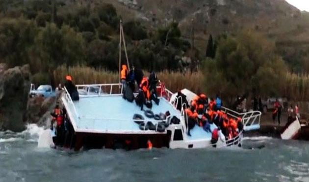 Batan göçmen teknesinde can pazarı