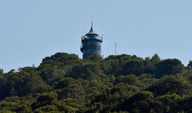 Büyükada'da modern yangın gözetleme kulesi yapılacak