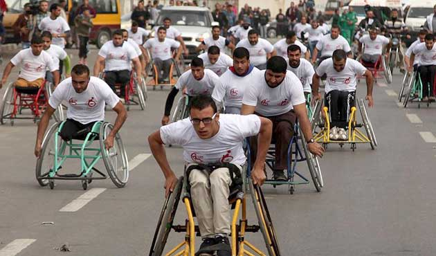 Gazze'de 'Direniş Maratonu'