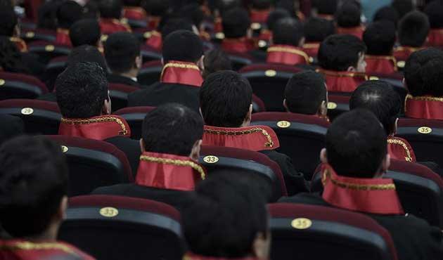 Bin 45 hakim ve savcının görev yeri değiştirildi