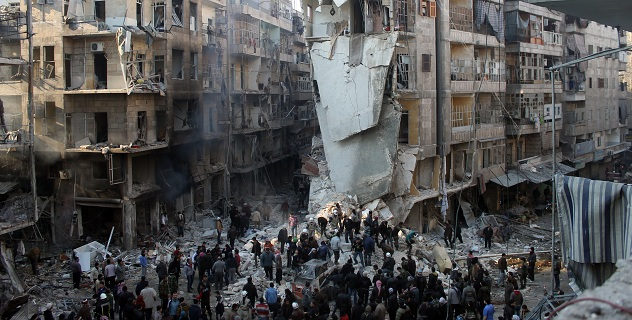 Suriye ordusundan Haleplilere: Dünyanın umrunda değilsiniz..