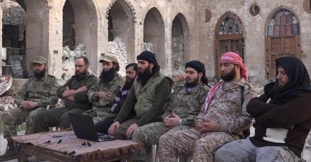 Halep'te muhalifler yeniden birleşti
