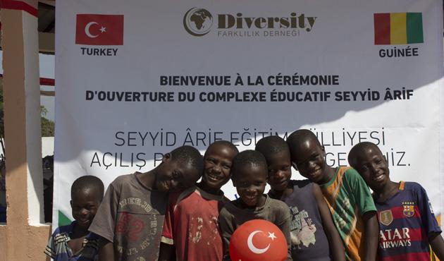 Mali ve Gine'de 'Türk Külliyesi' açıldı