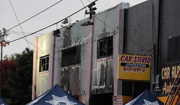 California'da konser salonunda yangın; 33 ölü