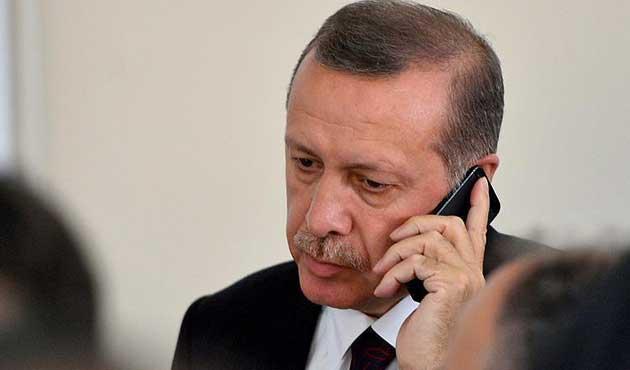 Erdoğan'dan Özbekistan Cumhurbaşkanına tebrik