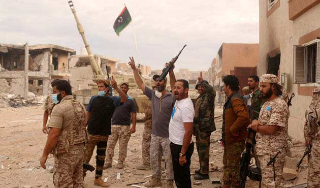 Libya'da siviller için ateşkes ilan edilecek