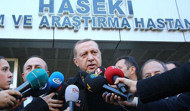 Erdoğan: Terörle mücadele sonuna kadar sürecek