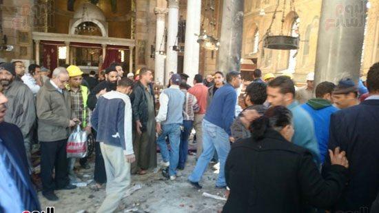 Kahire'de katedral yakınında patlama