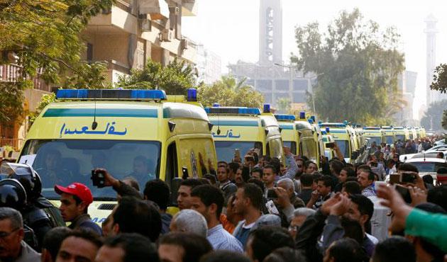 Mısır'da Kıptiler'den Sisi'ye büyük öfke   VİDEO