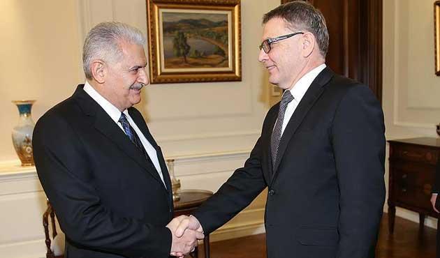 Başbakan Yıldırım Çekya Dışişleri Bakanı'nı kabul etti
