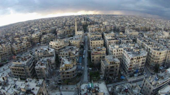 Halep'te ateşkes kararı