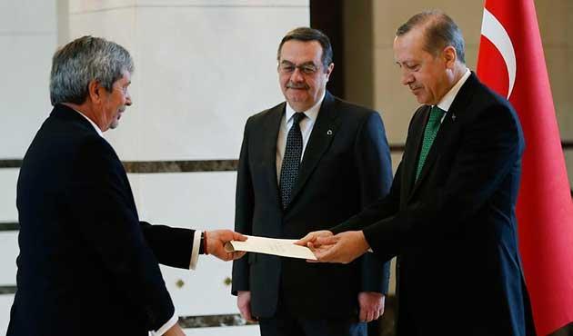 Erdoğan, Arjantin'in Ankara Büyükelçisini kabul etti