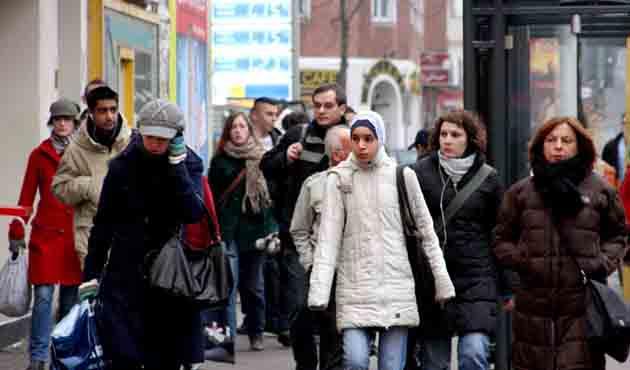 Almanya'da 4,4 milyon Müslüman yaşıyor