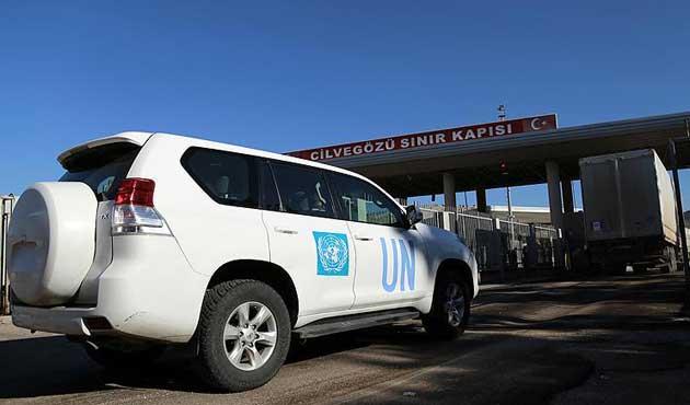 BM yardım konvoyu Cilvegözü'nden geçti