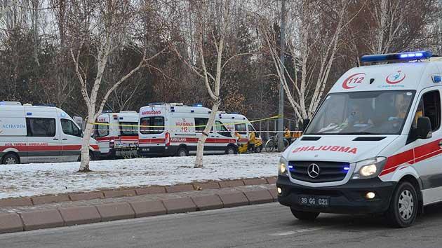 STK'lardan Kayseri'deki terör saldırısına tepki
