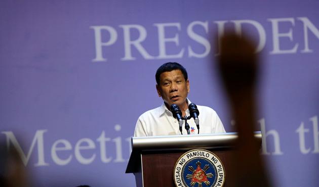 Duterte'den sert tepki: 'Hoşçakal' ABD